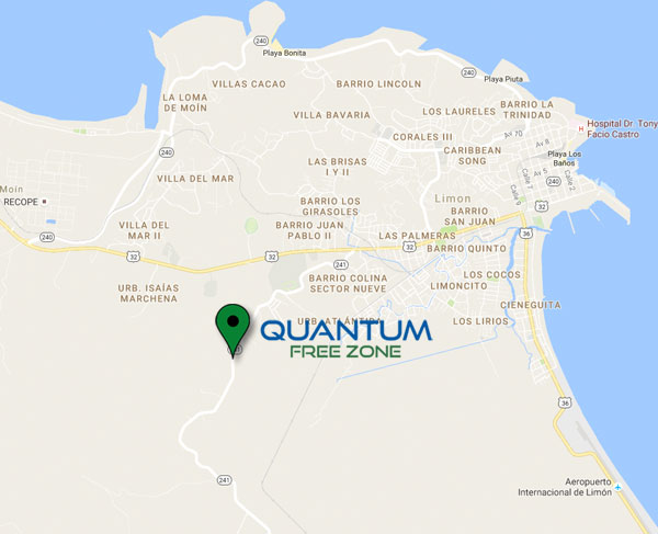 Quantum-Free-Zone-Location